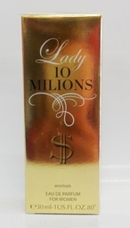 EDT Lucky Lady 10 Milions 30 мл